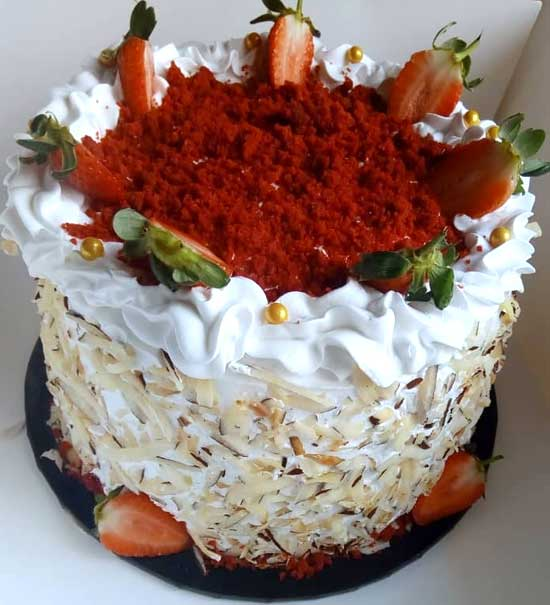 haddicious whipped cream cake
