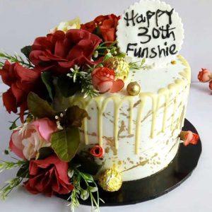 haddicious floral cake