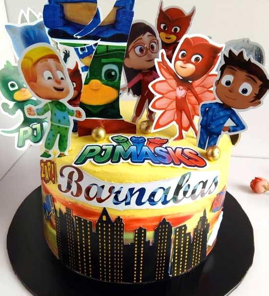 haddicious Pjmasks cake