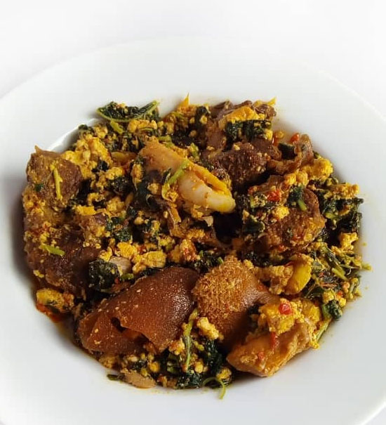 Egusi Vegetable ( Efo Elegusi) Soup