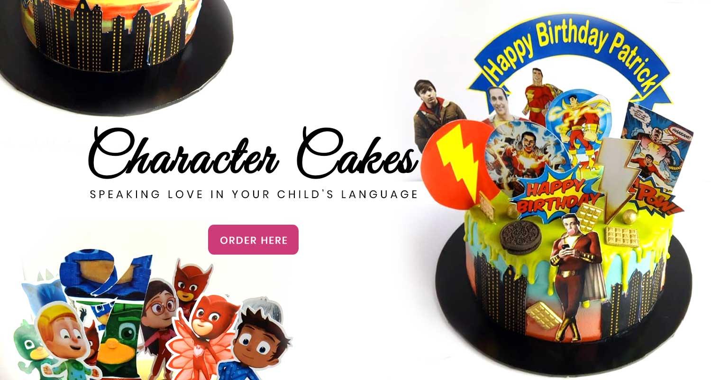 haddicious character cakes