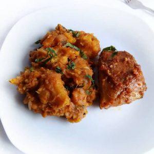 haddicious Porridge Yam with Chicken